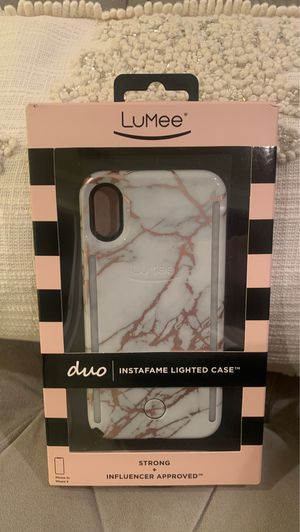 LuMee duo lighted case for Sale in Lynwood, CA