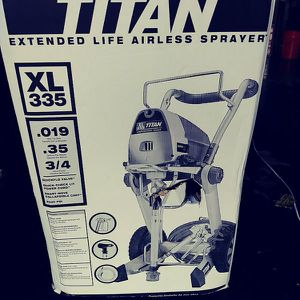 Titan XL335 airless paint sprayer for Sale in Queens, NY