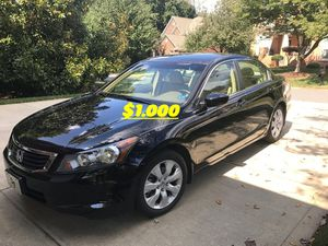 🙏🏼Very good condition 2008 Honda Accord EXL I sell my family car excellent Clean Tittle{$1000}🔑🔑 for Sale in Richmond, VA