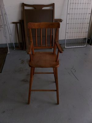 Antique high chair for Sale in Houston, TX