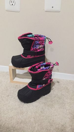 Athletech Pair of black and pink boot size 10 for Sale in Gaithersburg, MD