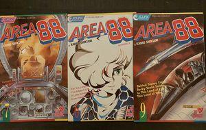 Eclipse Area 88 comic books set of 3 for Sale in Corona, CA