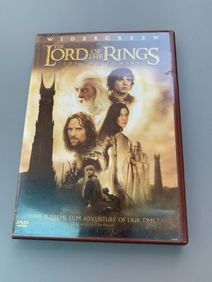 Lord of the Rings: The Two Towers DVD for Sale in Houston, TX
