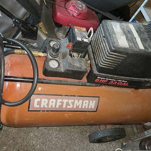 Craftsman Air Compressor 6 HP 33 Gallon for Sale in Tacoma, WA