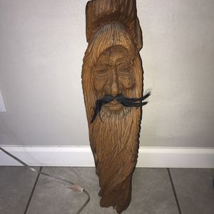 Solid Wood Sculpture for Sale in Tempe, AZ