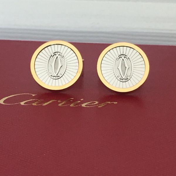 Cartier cufflinks - Gold & Silver