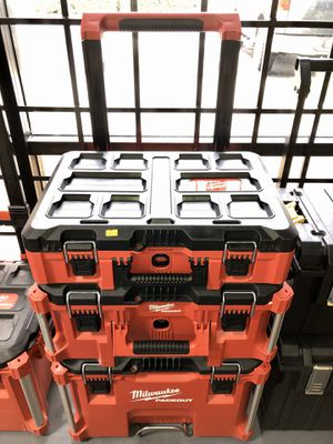Milwaukee 3pc Packout Tool Boxes for Sale in Garden Grove, CA