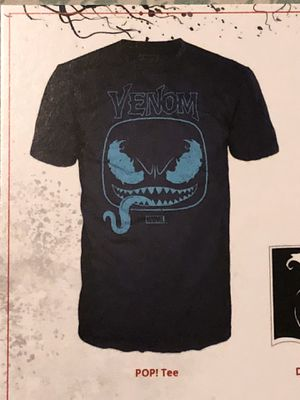 New Funko Pop Venom Marvel Collector Corp T-shirt Men's Large for Sale in Spring Hill, FL