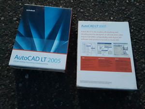 AutoCAD LT 2005 Software for Sale in Kent, WA