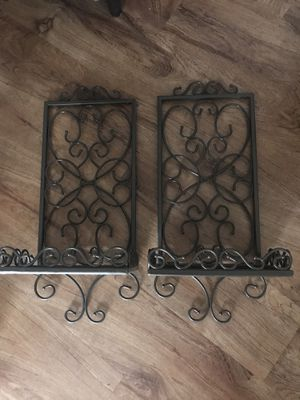 Brown Metal Wall Shelves for Sale in Austin, TX