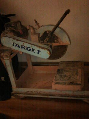 """Target 14"""" wet dry mason block saw for Sale in Dallas, TX"""