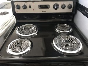 "Vertex Appliances. Used,30""Hotpoint electric stove , coin burners, STAINLESS, great condition, work great for Sale in San Jose, CA"
