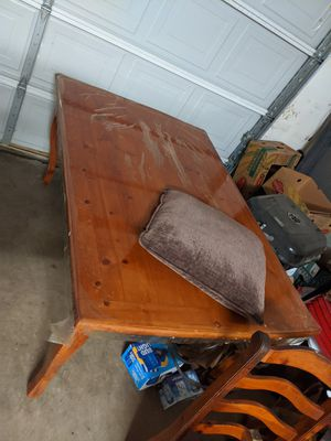 solid wood kitchen table for Sale in Bakersfield, CA