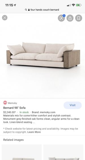 Four Hands Bernard Couch for Sale in Katy, TX