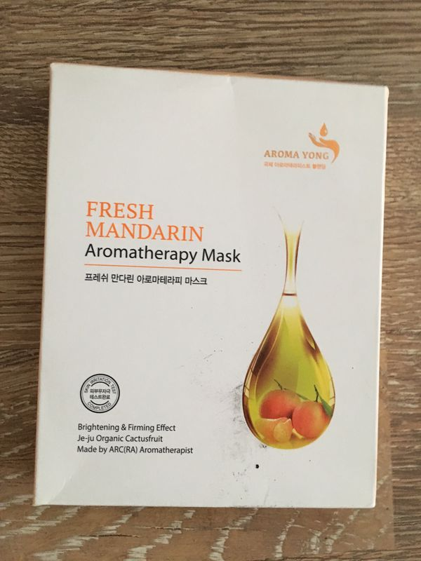 Fresh Mandarin Face Masks