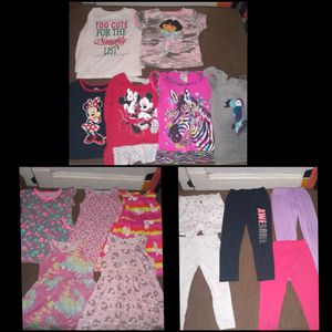 Girl's clothes sizes 3-5/6 (shirts, pants, and dresses) for Sale in Cleveland, OH