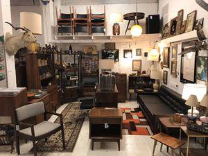 MCM Walnut Teak Tallboy Swag Taxidermy Danish Mid Century for Sale in Portland, OR