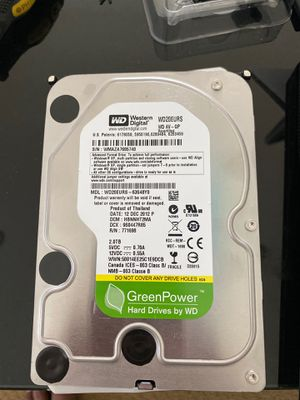 "WD 2TB 3.5"" hard disk drive for Sale in Elk Grove, CA"