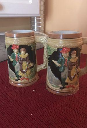 2 antique mugs for Sale in Ashburn, VA