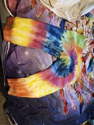 Tie dye leggings capri for Sale in Stockton, CA
