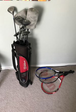 Golf clubs and tennis rackets for Sale in Poinciana, FL