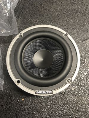 "HERTZ HL 70 3"" HIGH ENERGY MIDRANGE SPEAKERS W/ GRILLS for Sale in Pomona, CA"