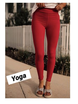 New Solid Red Leggings Soft as Lularoe for Sale in Saginaw, MI