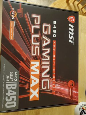 Msi B450 gaming plus max for Sale in Payson, AZ