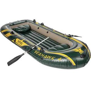 INTEX SEAHAWK 11 ft 7 inch Inflatable Boat for Sale in Sunset Valley, TX