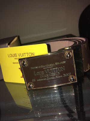 Louis Vuitton belt for Sale in Vienna, VA