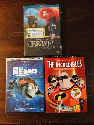 Disney Pixar DVDs for Sale in Joliet, IL