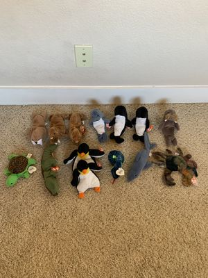 TY Beanie Baby Lot, 13 Sea Animals for Sale in Tempe, AZ