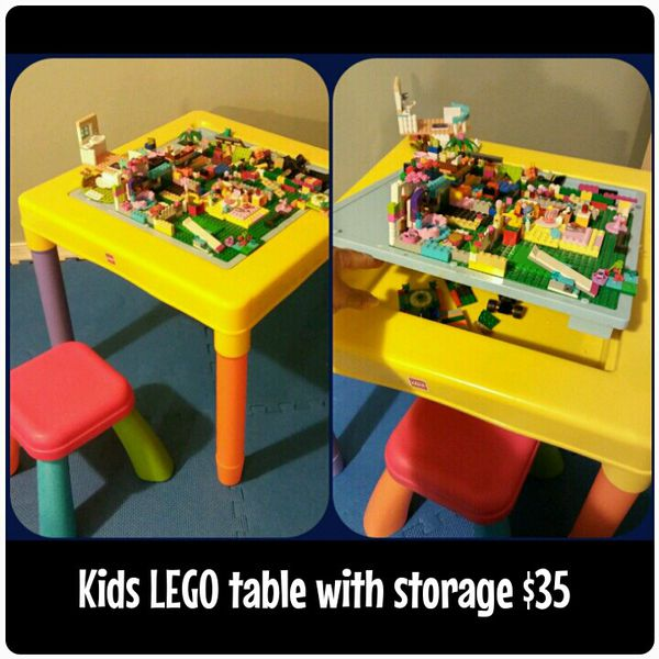 Kids Table for LEGO