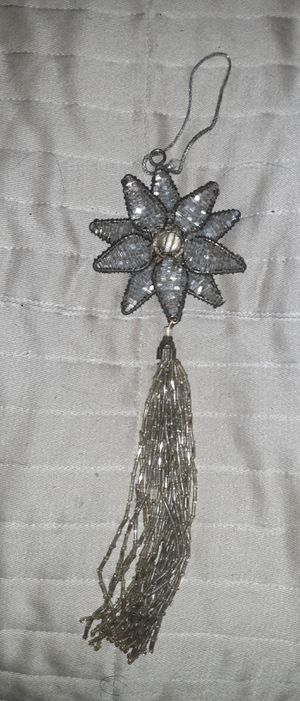 Antique Christmas metal and Glass Ornament for Sale in San Antonio, TX