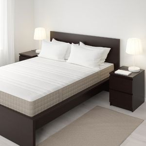 HAUGESUND Spring mattress and Foldable Bed Frame for Sale in New York, NY
