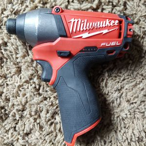"""Milwaukee M12 Fuel 1/4"""" Hex Impact Driver for Sale in Kent, WA"""