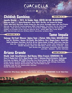 Two Coachella Weekend 2 Tickets! for Sale in San Francisco, CA