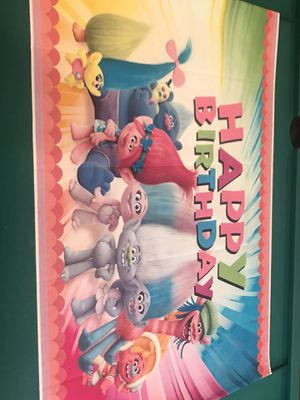 Trolls party supplies for Sale in Oakland, CA