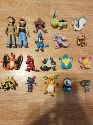 18 piece Pokémon toys looking for offers for Sale in Cardington, OH