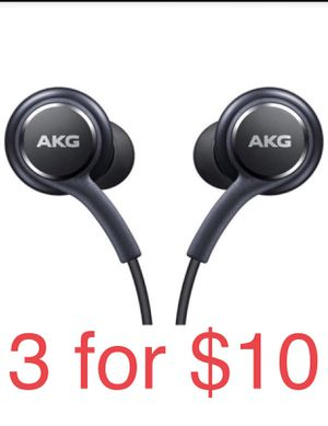 Samsung AKG Headphones (3 for $10) ,New Original for Sale in Henderson, NV