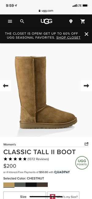 Classic Tall Ugg Boots for Sale in San Marcos, TX