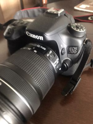 Canon 70D for Sale in Austin, TX