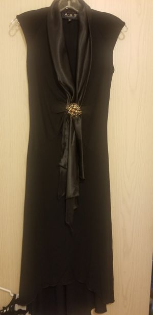 Abs Cocktail Dress, Black Jersey Sz S for Sale in Oregon City, OR