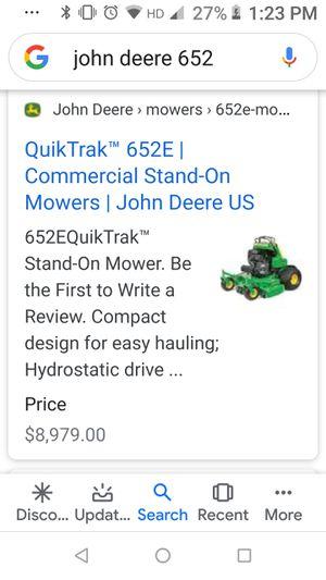 John Deere Stand on Commercial mower for Sale in Orlando, FL