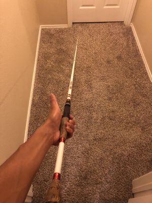 Fishing pole duckett magic stick for Sale in Saginaw, TX