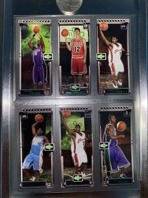 Lebron James, Carmelo Anthony, Chris Bosh Rookie cards for Sale in Corona, CA
