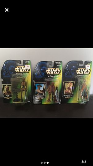 1996-1997 Kenner Star Wars Action Figues Mint on Card for Sale in Hewlett, NY