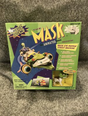 THE MASK Animated Series Mask Eye Poppin Street Machine Toy COLLECTIBLE for Sale in Los Angeles, CA