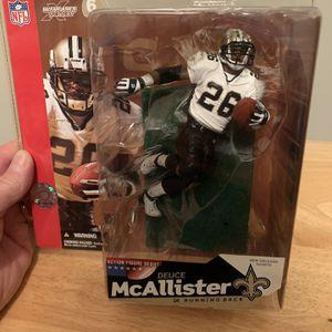 McFarlane Duece McAllister New Orleans Saints 7inch Figure for Sale in Plainfield, IL