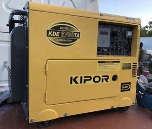 Kipor Diesel Generator 6700 Watts! Brand new! for Sale in Virginia Gardens, FL